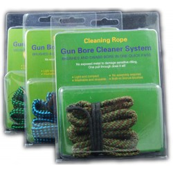 GUN BORE ROPE CLEANER 9MM CALIBER