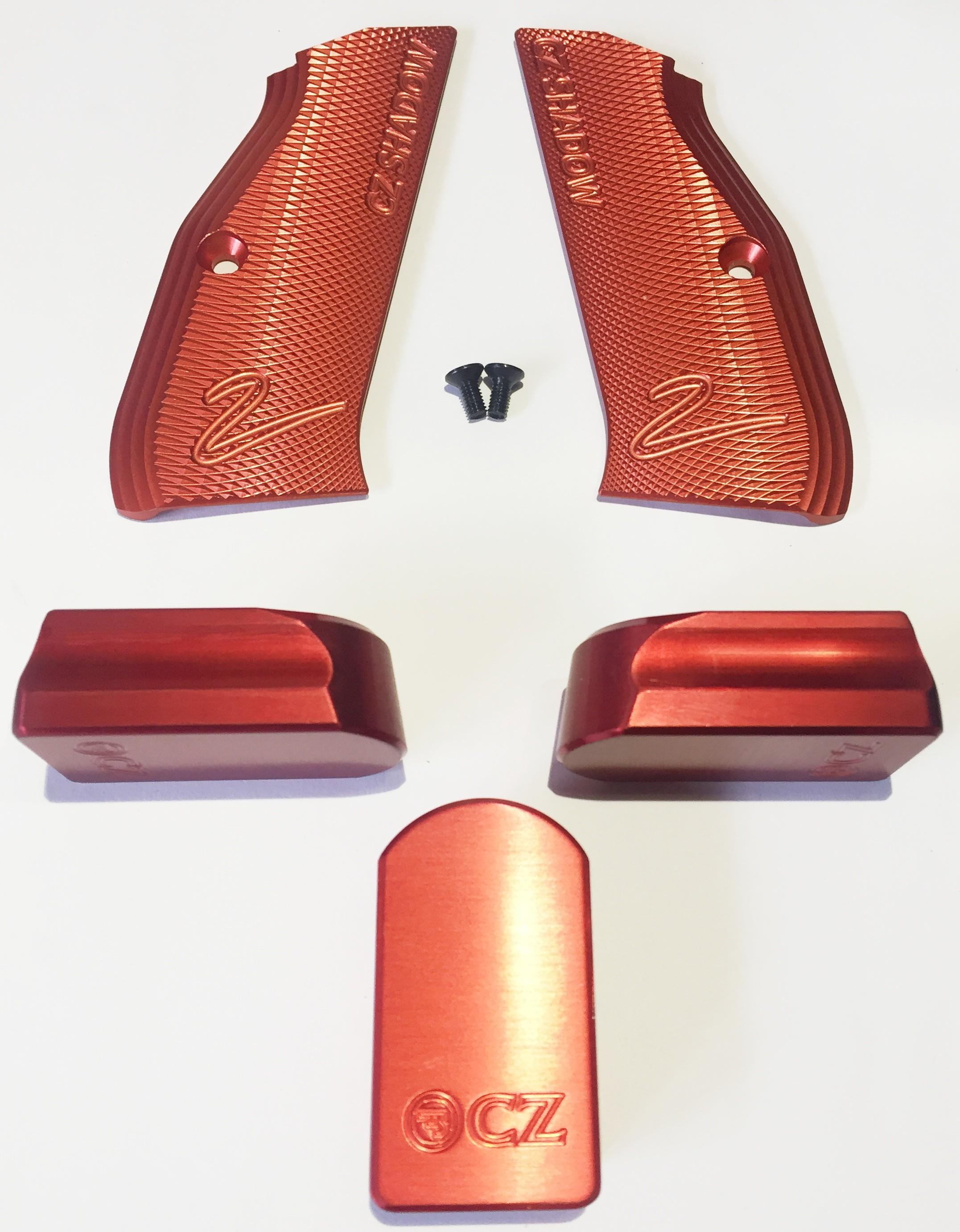 Aluminium magazine release - Seboweapons com - prodej zbraní