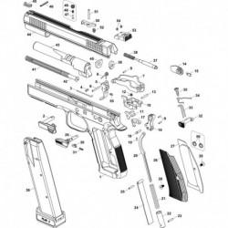 SAFETY DETENT PLUNGER - LEFT CZ 75/85