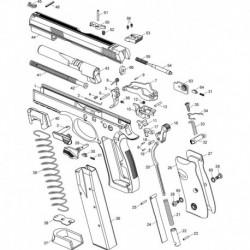 MAIN SPRING PLUG PIN CZ 75/85